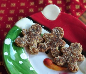 Raw Gingerbread Cookies